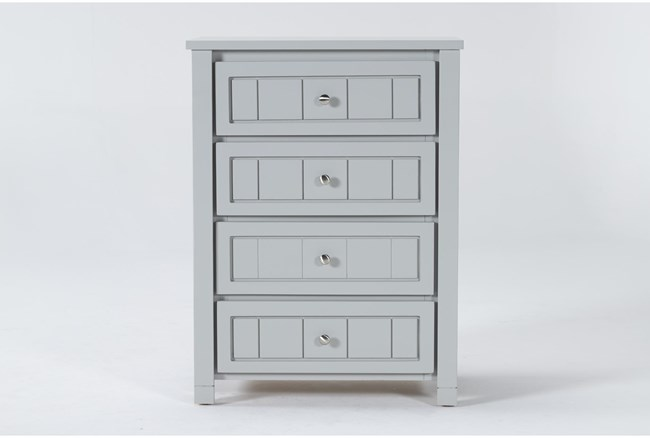 Mateo Grey Chest Of Drawers - 360