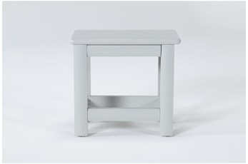Mateo Grey Desk Bench