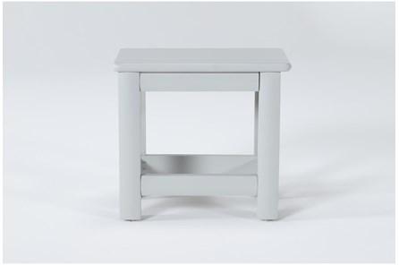 Mateo Grey Desk Bench - Main