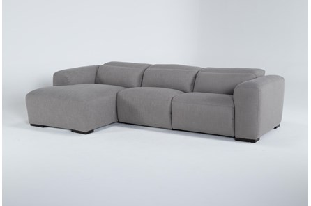 Morro Bay 3 Piece Power Reclining Sectional With Left Arm Facing Chaise - Main