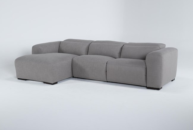 Morro Bay 3 Piece Power Reclining Sectional With Left Arm Facing Chaise - 360