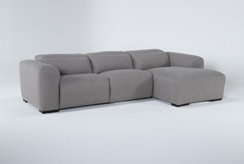 Morro Bay 3 Piece Power Reclining Sectional With Right Arm Facing Chaise