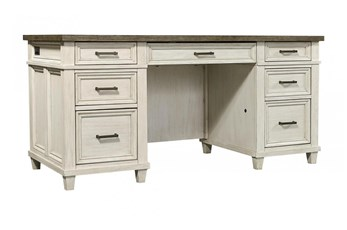 "Givens 66"" Executive Desk"
