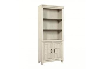 Givens Door Bookcase With 2 Doors