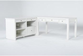 Shia Storage Corner Desk