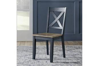 Fairfield Navy Dining Chair