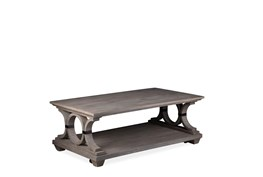 Cressley Rectangular Coffee Table With Casters