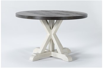 Willowrun Round Single Pedestal Dining Table