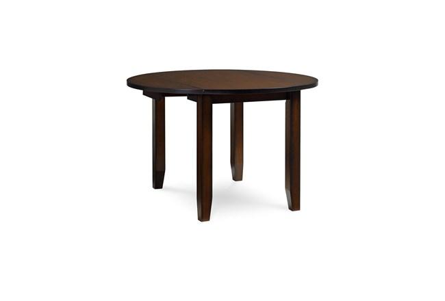 Branton Round Drop Leaf Dining Table  - 360