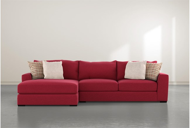Delano Scarlett 2 Piece Sectional With Left Arm Facing Chaise - 360
