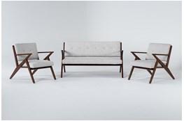 Kendrick Stone 3 Piece Living Room Set