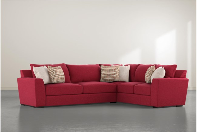 Delano Scarlett 2 Piece Sectional With Left Arm Facing Sofa - 360
