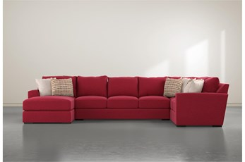 Delano Scarlett 3 Piece Sectional With Left Arm Facing Chaise
