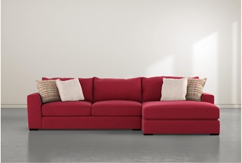 Delano Scarlett 2 Piece Sectional With Right Arm Facing Chaise