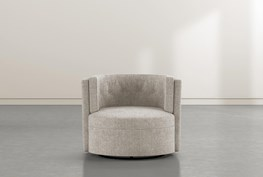 Quinton Mia Velvet Accent Chair