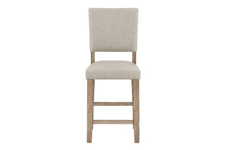 Auburn Honey Upholstered Counter Height Dining Chair - Main