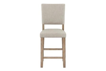 Auburn Honey Upholstered Counter Height Dining Chair - Main