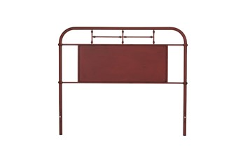 Cedar Falls Red Queen Metal Headboard