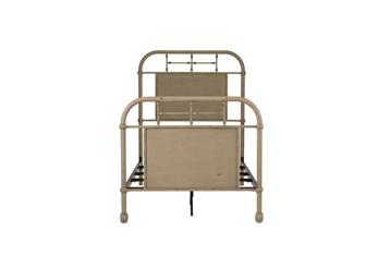 Cedar Falls Cream Full Metal Bed