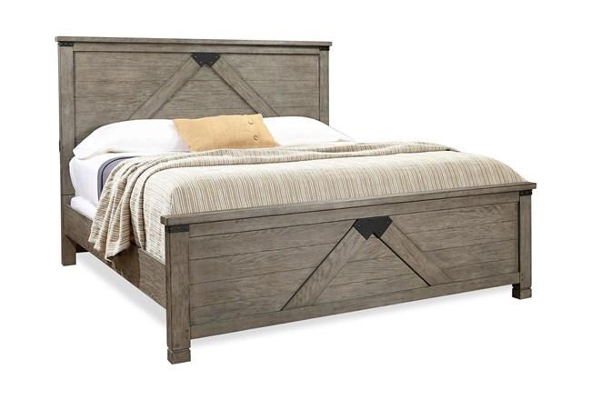 Tuck California King Panel Bed - 360
