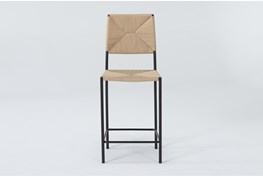 Rattan Natural 26 Inch Counter Stool