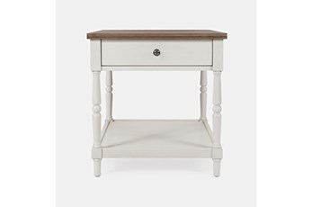 Fairbanks End Table With Drawer And Shelf