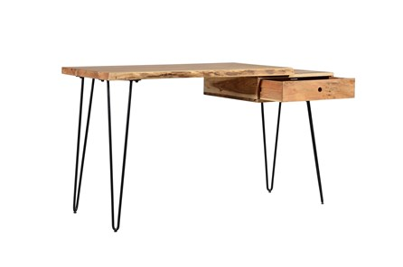 Chadwick Natural Desk With Drawer - Main