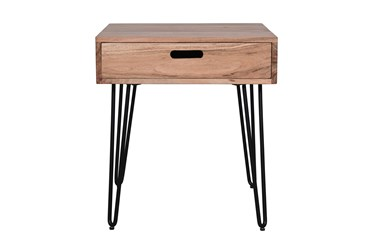 Silas End Table With Drawer