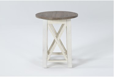 Sims Round End Table