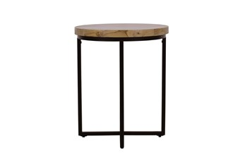 Elwood Round End Table