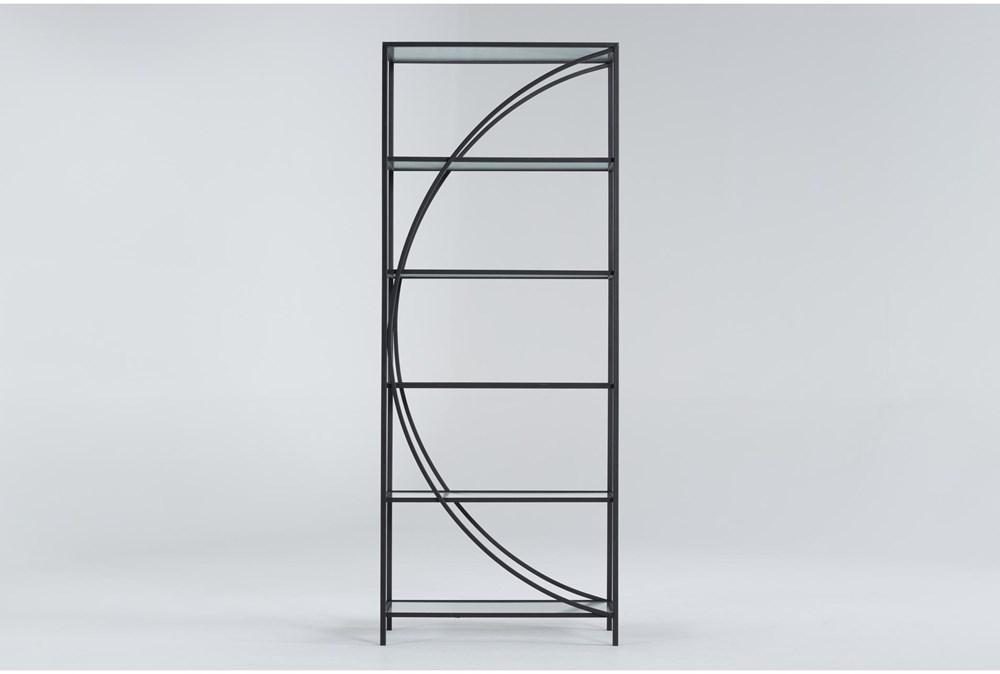 Apollo Metal + Glass Bookcase