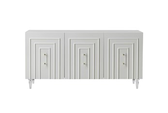 """Arya White Lacquer 65"""" Sideboard"""