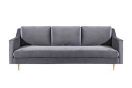 Bellamy Grey Velvet Sofa