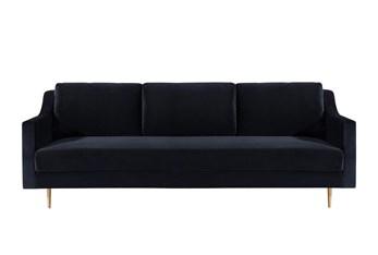 Bellamy Black Velvet Sofa