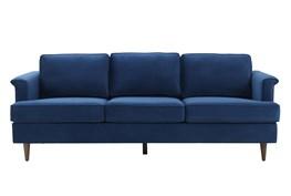 Irving Navy Velvet Sofa