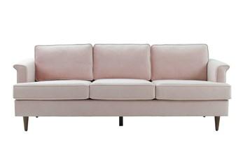 Irving Blush Velvet Sofa