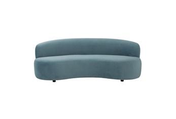 Nova Bluestone Velvet Sofa