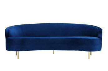Daphne Navy Velvet Sofa