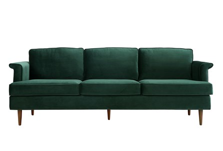 Irving Forest Green Sofa - Main