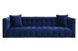 Tatum Navy Velvet Sofa