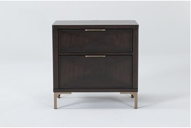Palladium 2 Drawer Nightstand By Drew & Jonathan for Living Spaces