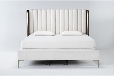 Palladium California King Shelter Upholstered Bed By Drew & Jonathan for Living Spaces