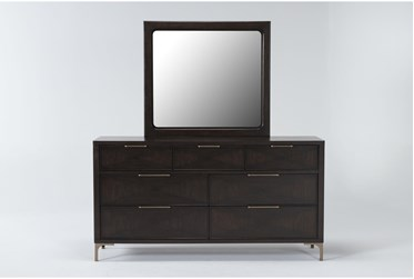 Palladium Dresser/Mirror By Drew & Jonathan for Living Spaces