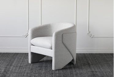 Double Curve Accent Chair