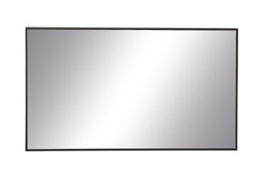 40X24 Inch Black Wood Rectangle Wall Mirror