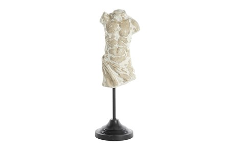 17 Inch Torso Sculpture On Stand - Main