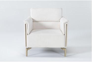 Alta Chalk Accent Chair By Drew & Jonathan For Living Spaces