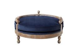 Mirren Navy Pet Bed