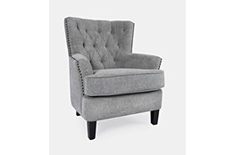 Campbell Grey Accent Chair