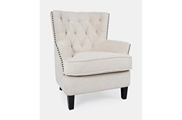 Campbell Cream Accent Chair